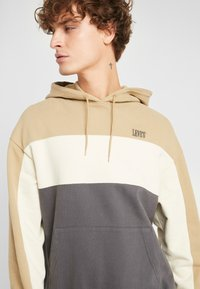 Levi's® - WAVY COLORBOCK HOODIE - Sweat à capuche - harvest gold/fog/forged iron - 4
