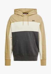 Levi's® - WAVY COLORBOCK HOODIE - Sweat à capuche - harvest gold/fog/forged iron - 3