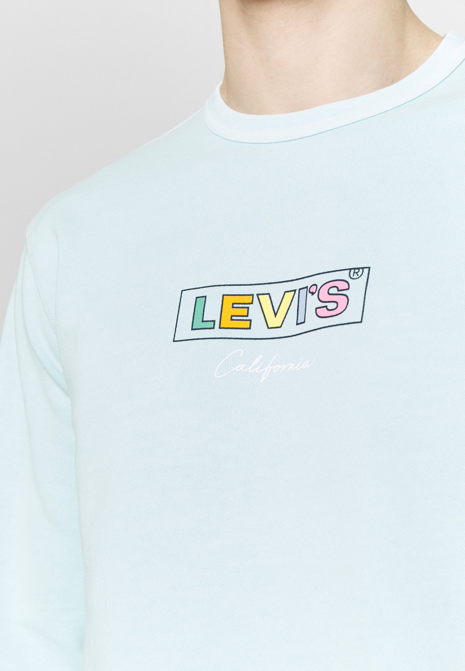 Levi's® GRAPHIC CREW - Bluza - clearwater