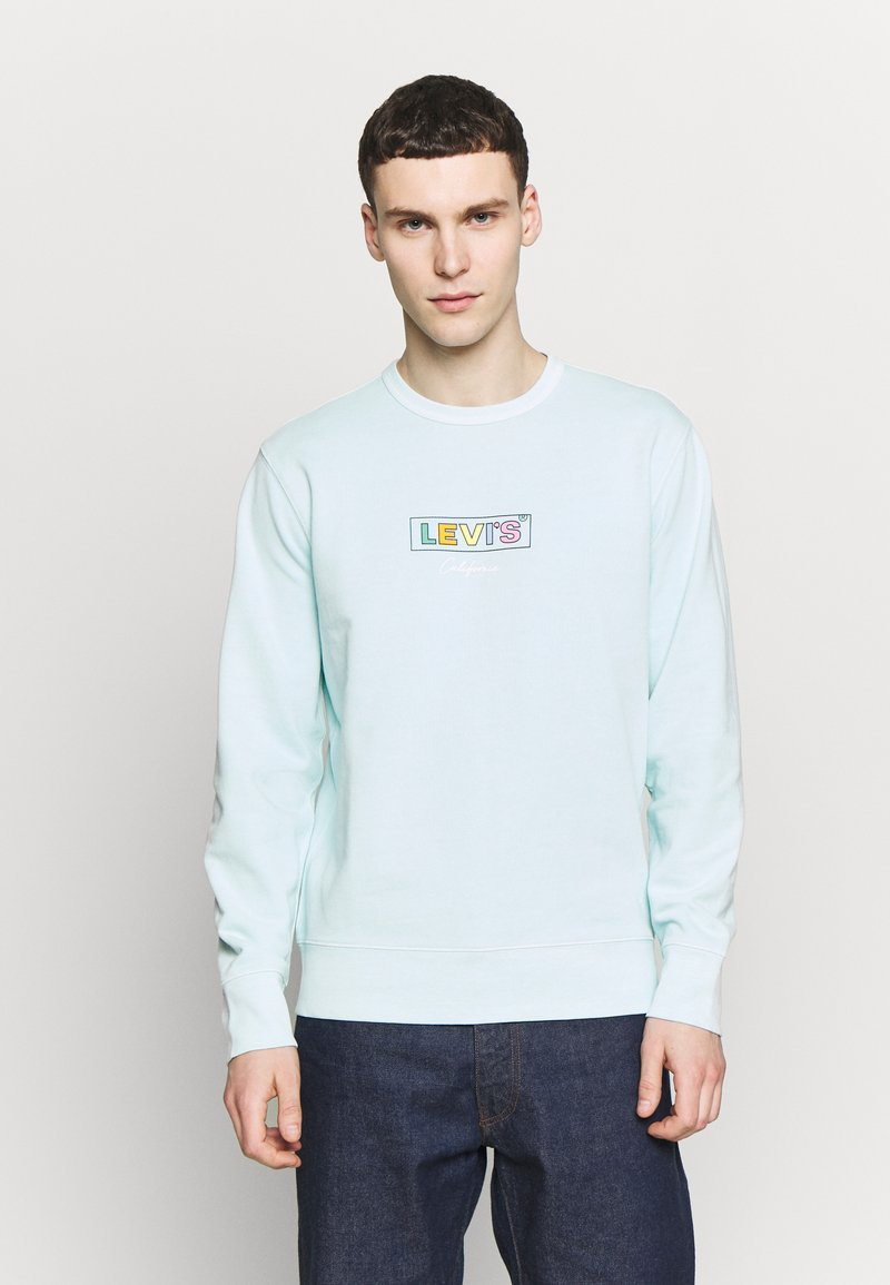 Levi's® - GRAPHIC CREW - Sweatshirt - clearwater