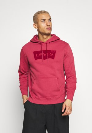 GRAPHIC HOODIE - Luvtröja - tonal earth red