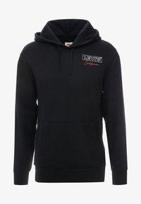 Levi's® - GRAPHIC HOODIE - Bluza z kapturem - mineral black - 4