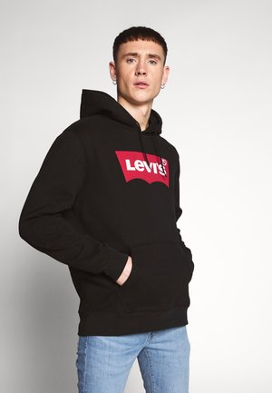 GRAPHIC HOODIE - Sweat à capuche - black