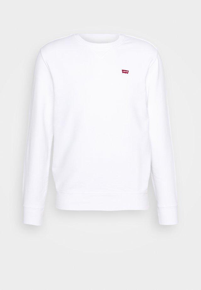 NEW ORIGINAL CREW - Sweatshirt - white