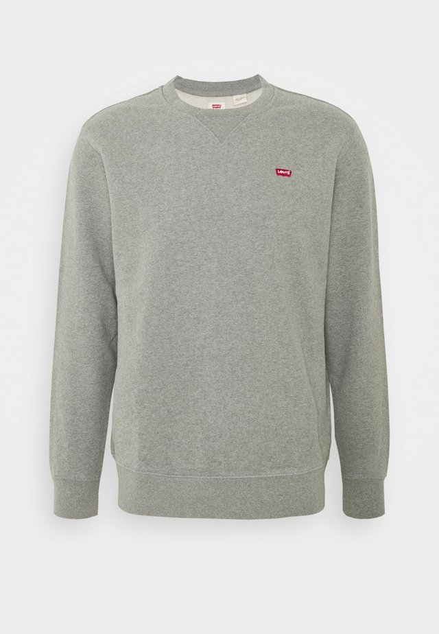 NEW ORIGINAL CREW - Sweater - chisel grey heather