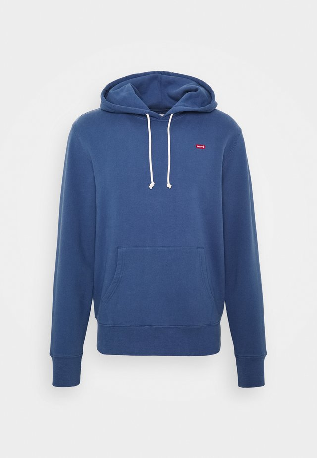 NEW ORIGINAL HOODIE - Jersey con capucha - blue indigo