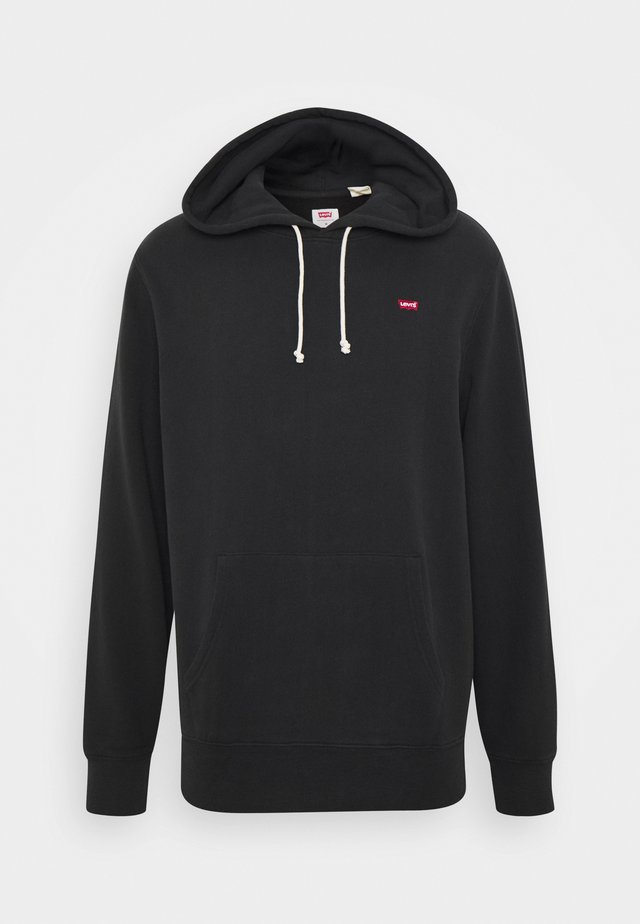 NEW ORIGINAL HOODIE - Jersey con capucha - mineral black