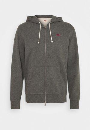 NEW ORIGINAL ZIP UP - Zip-up hoodie - charcoal heather