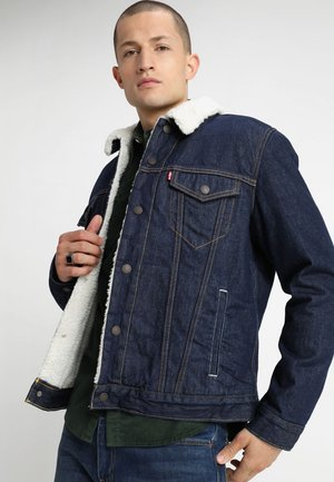 TYPE 3 SHERPA TRUCKER - Kurtka jeansowa - rockridge