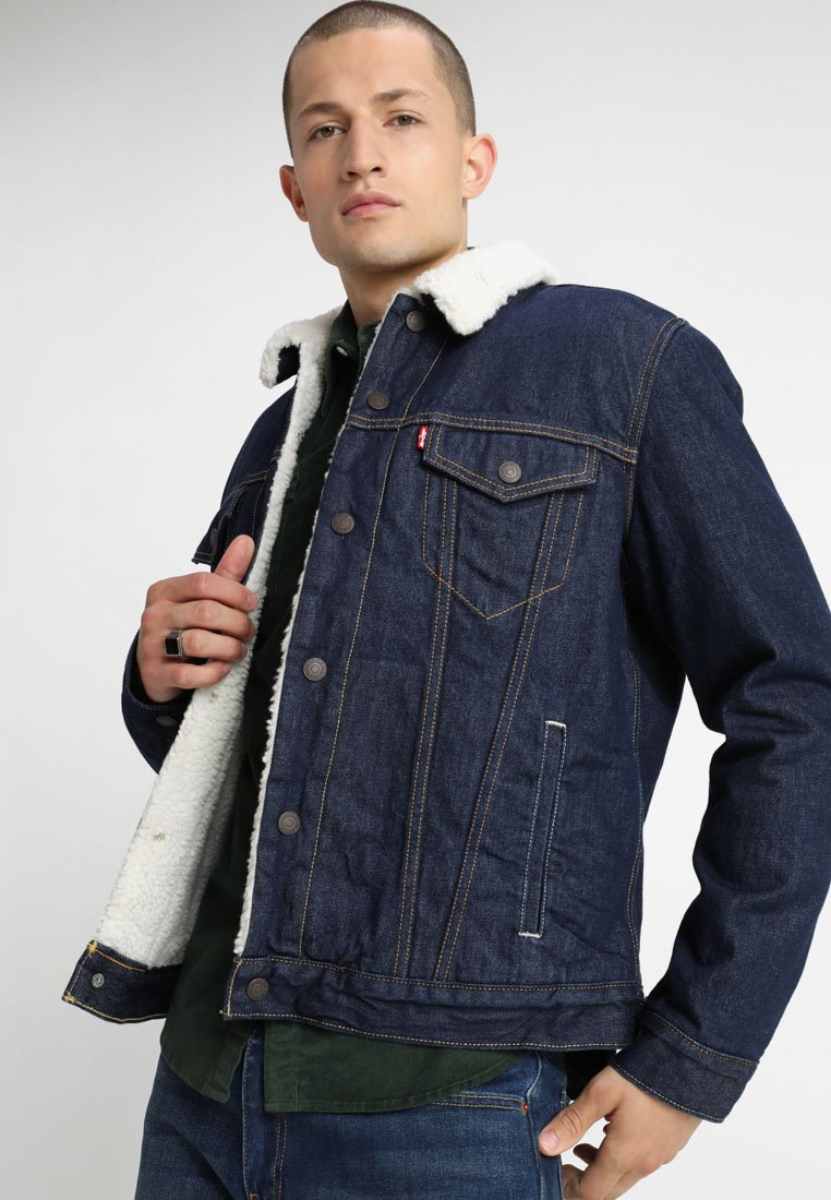 Levi's® - TYPE 3 SHERPA TRUCKER - Farkkutakki - rockridge