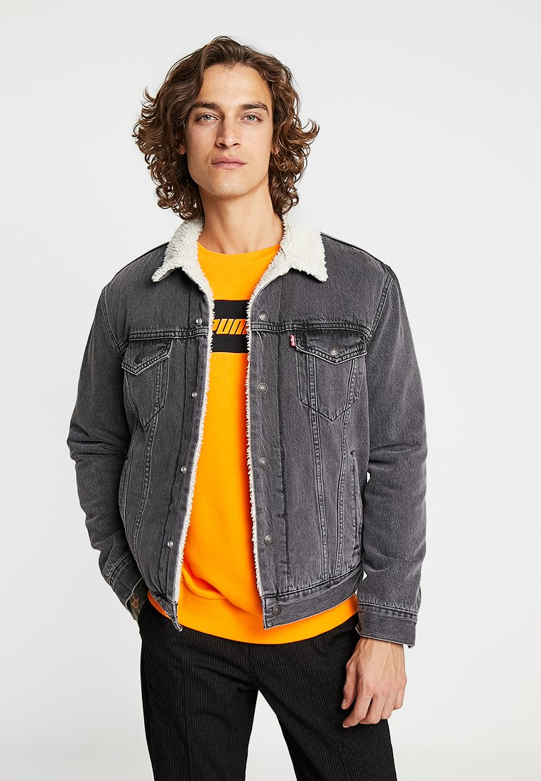 Levi's® - TYPE 3 SHERPA TRUCKER - Veste en jean - tarmac