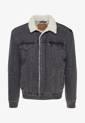 TYPE 3 SHERPA TRUCKER - Denim jacket - tarmac