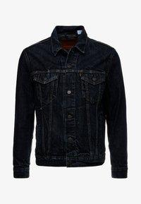 Levi's® - THE TRUCKER - Veste en jean - dark-blue denim - 4