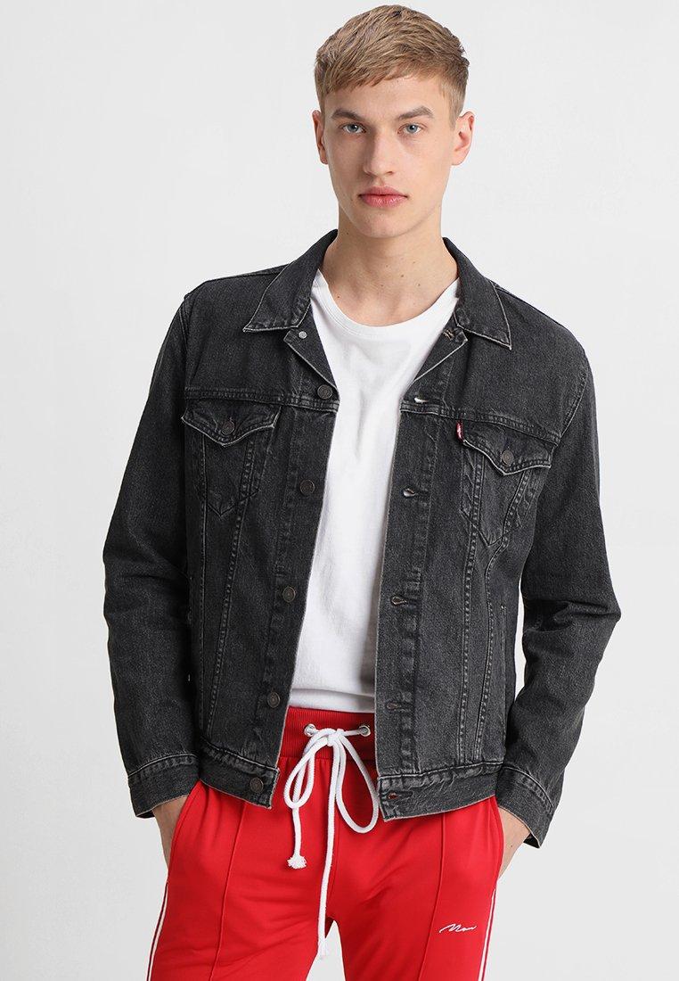 Levi's® - THE TRUCKER - Denim jacket - black denim