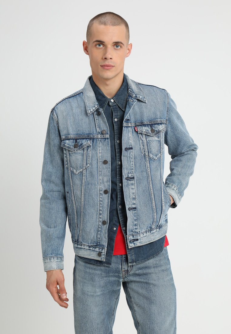 Levi's® - THE TRUCKER JACKET - Jeansjacke - killebrew