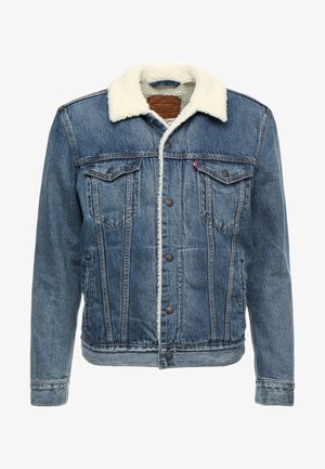 TYPE 3 SHERPA TRUCKER - Denim jacket - mayze sherpa trucker
