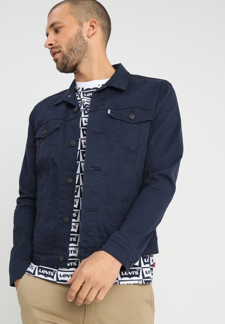 Levi's® - THE TRUCKER JACKET - Veste en jean - navy blazer