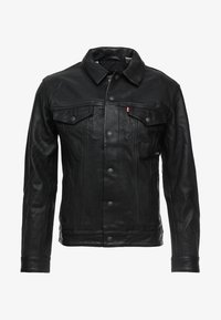 Levi's® - TRUCKER TYPE 3 - Leren jas - black - 4