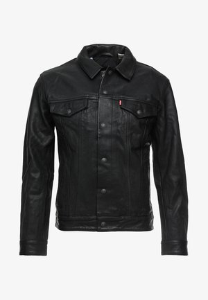 TRUCKER TYPE 3 - Lederjacke - black