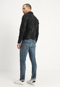 Levi's® - TRUCKER TYPE 3 - Leren jas - black - 2