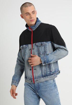 UNBASIC MOCKNECK TRUCKER - Denim jacket - cruv trucker