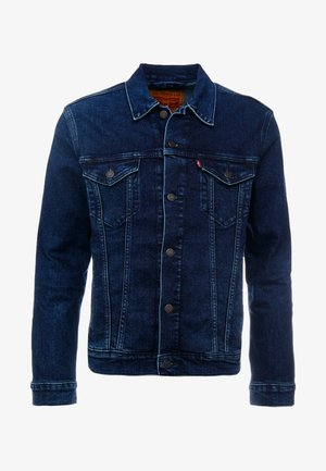 THE TRUCKER JACKET - Farkkutakki - dark-blue denim