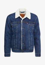 TYPE 3 SHERPA TRUCKER - Giacca di jeans - palmer