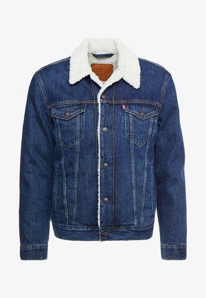 TYPE 3 SHERPA TRUCKER - Denim jacket - palmer