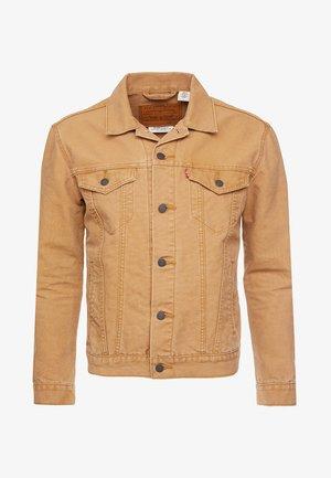 THE TRUCKER JACKET - Denim jacket - sand