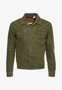 Levi's® - THE TRUCKER JACKET - Denim jacket - olive night - 6