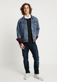 Levi's® - LINED TRUCKER JACKET - Jeansjacka - sequoia - 1
