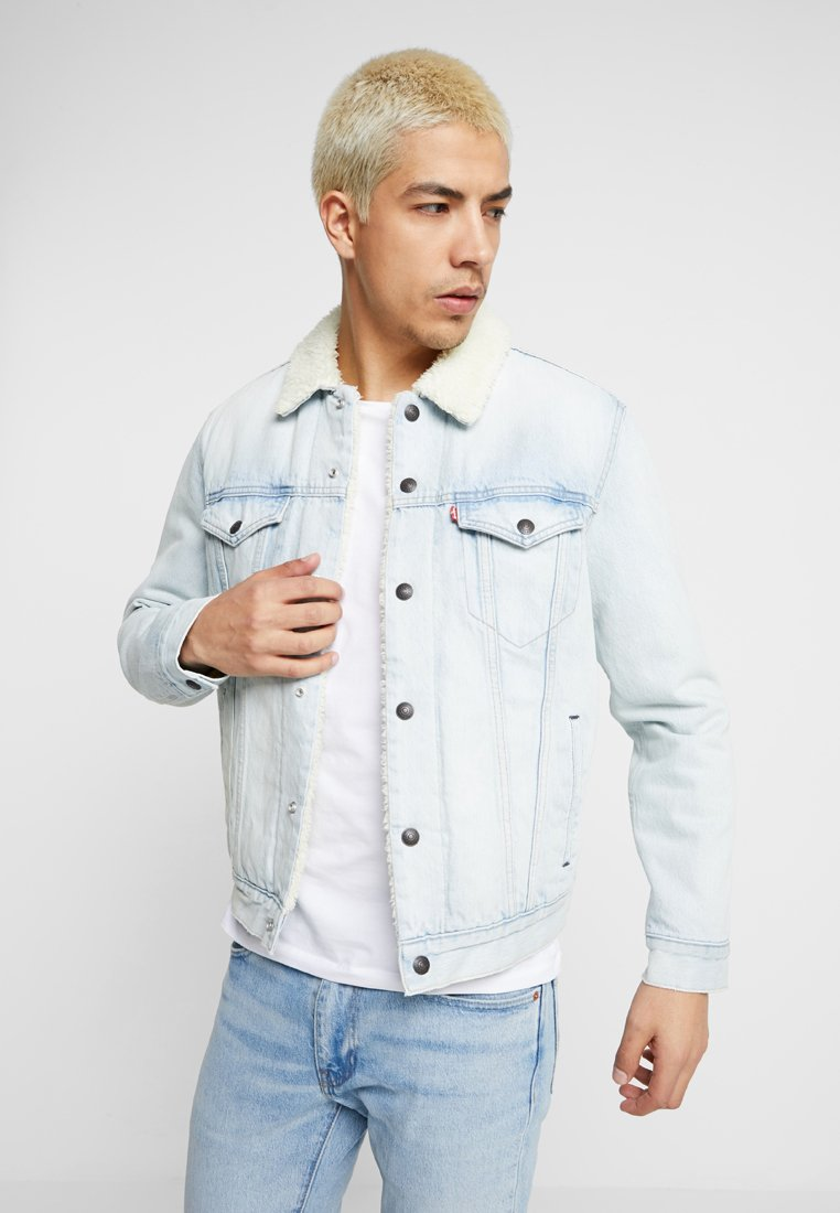 Levi's® - TYPE SHERPA TRUCKER - Denim jacket - light-blue denim