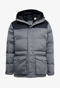 Levi's® - PUFFER - Gewatteerde jas - dark heather grey - 4
