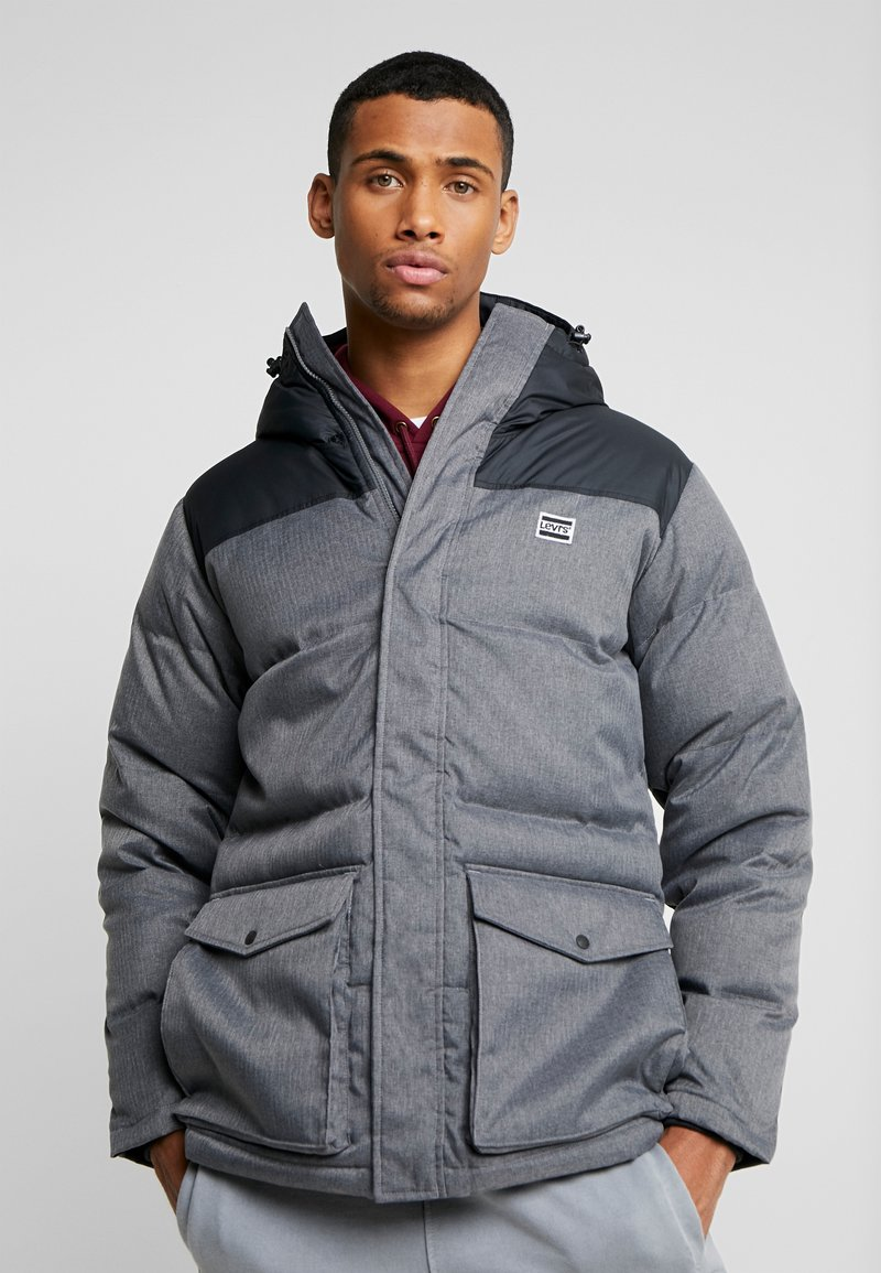Levi's® - PUFFER - Gewatteerde jas - dark heather grey
