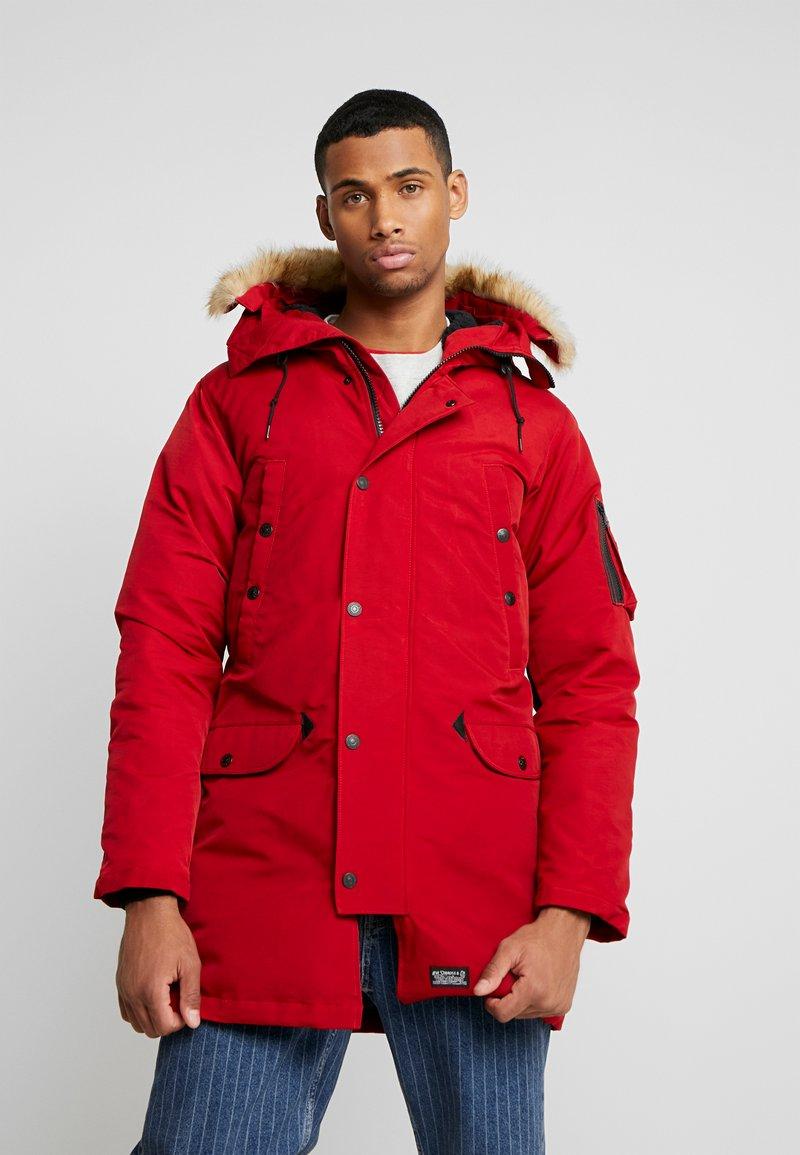 Levi's® - DAVIDSON PARKA - Down coat - crimson
