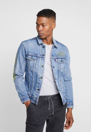 LEVI'S® X STAR WARS THE TRUCKER JACKET - Džínová bunda - blue denim