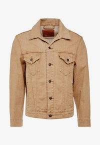 Levi's® - VINTAGE FIT TRUCKER UNISEX - Denim jacket - desert boots - 3
