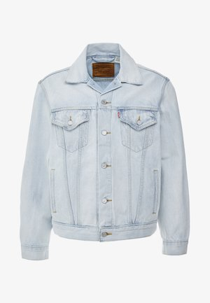 VINTAGE FIT TRUCKER UNISEX - Spijkerjas - light-blue denim