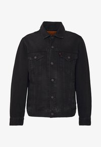 Levi's® - VINTAGE FIT TRUCKER UNISEX - Giacca di jeans - black trucker - 5