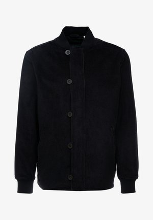 QUILTED DECK BOMBER  - Giubbotto Bomber - mineral black