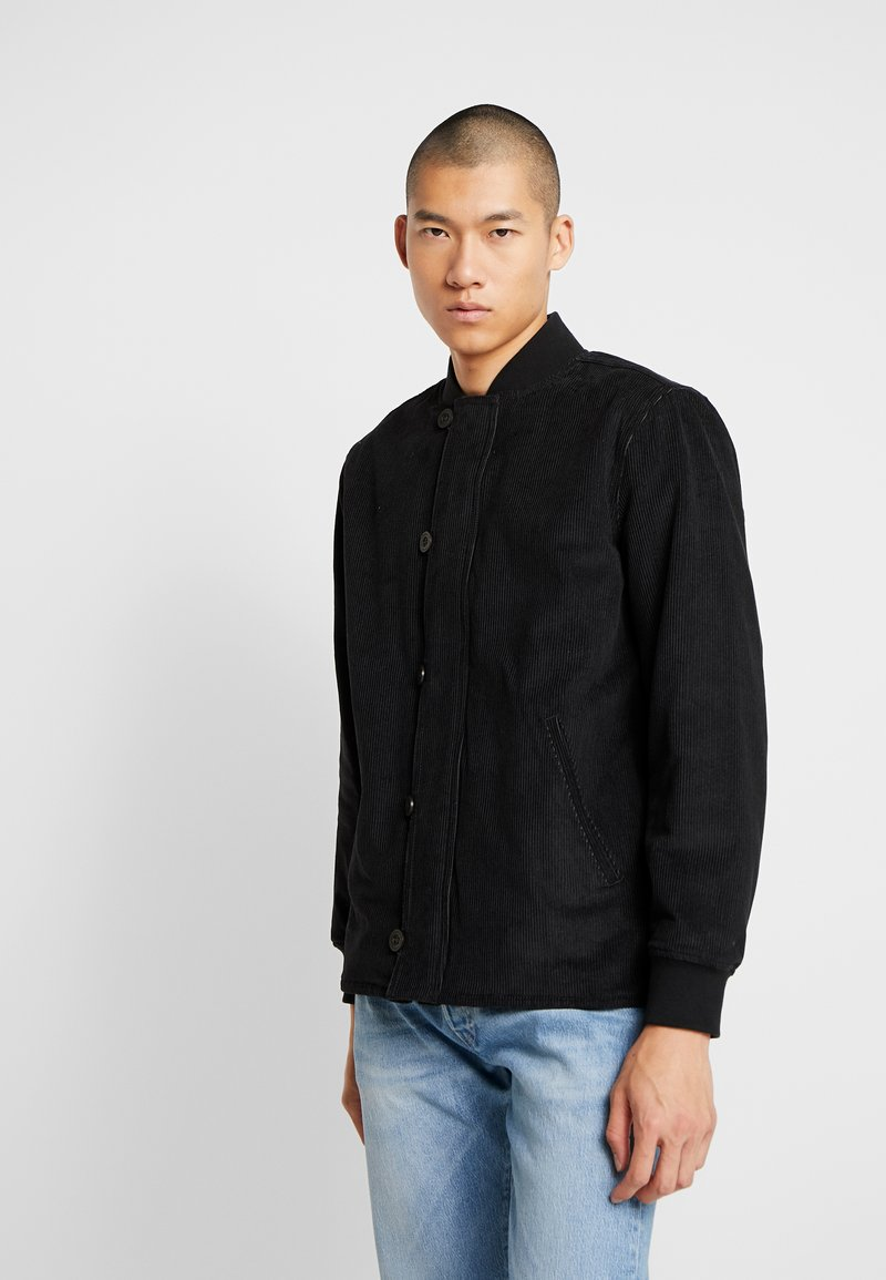 Levi's® - QUILTED DECK BOMBER  - Blouson Bomber - mineral black
