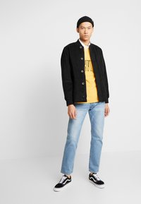 Levi's® - QUILTED DECK BOMBER  - Blouson Bomber - mineral black - 1