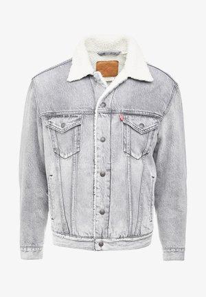 VIRGIL TRUCKER - Kurtka jeansowa - grey