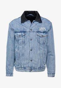 Levi's® - RVS PADDED TRUCKER - Denim jacket - surprise - 4