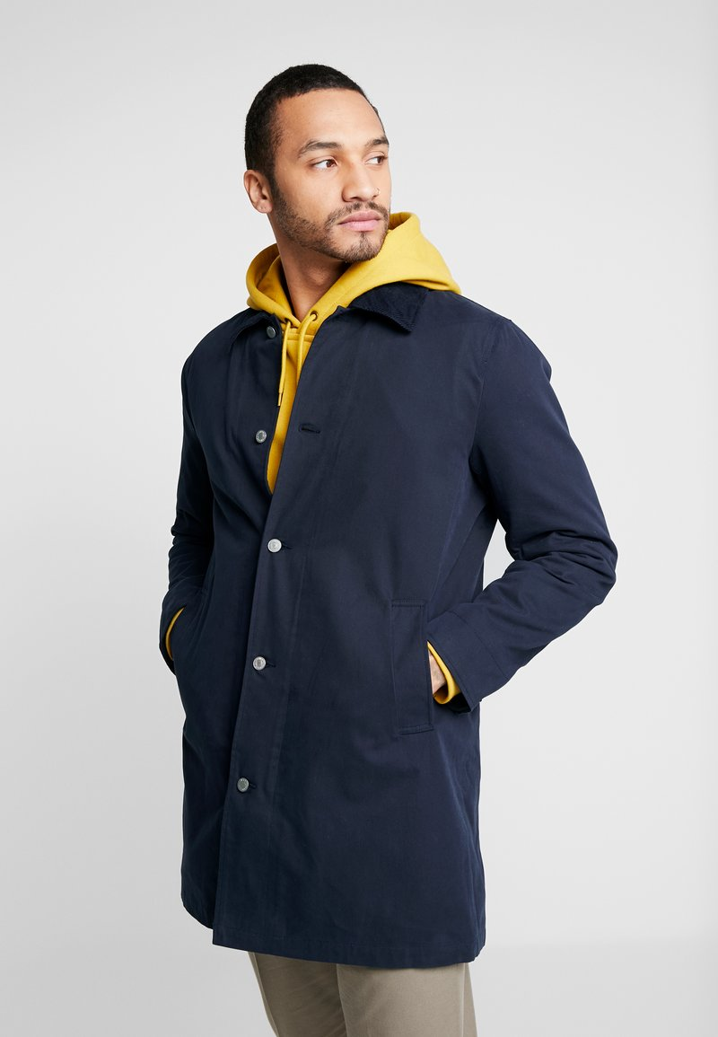 Levi's® - LONG UTILITY COAT - Kort kappa / rock - nightwatch blue