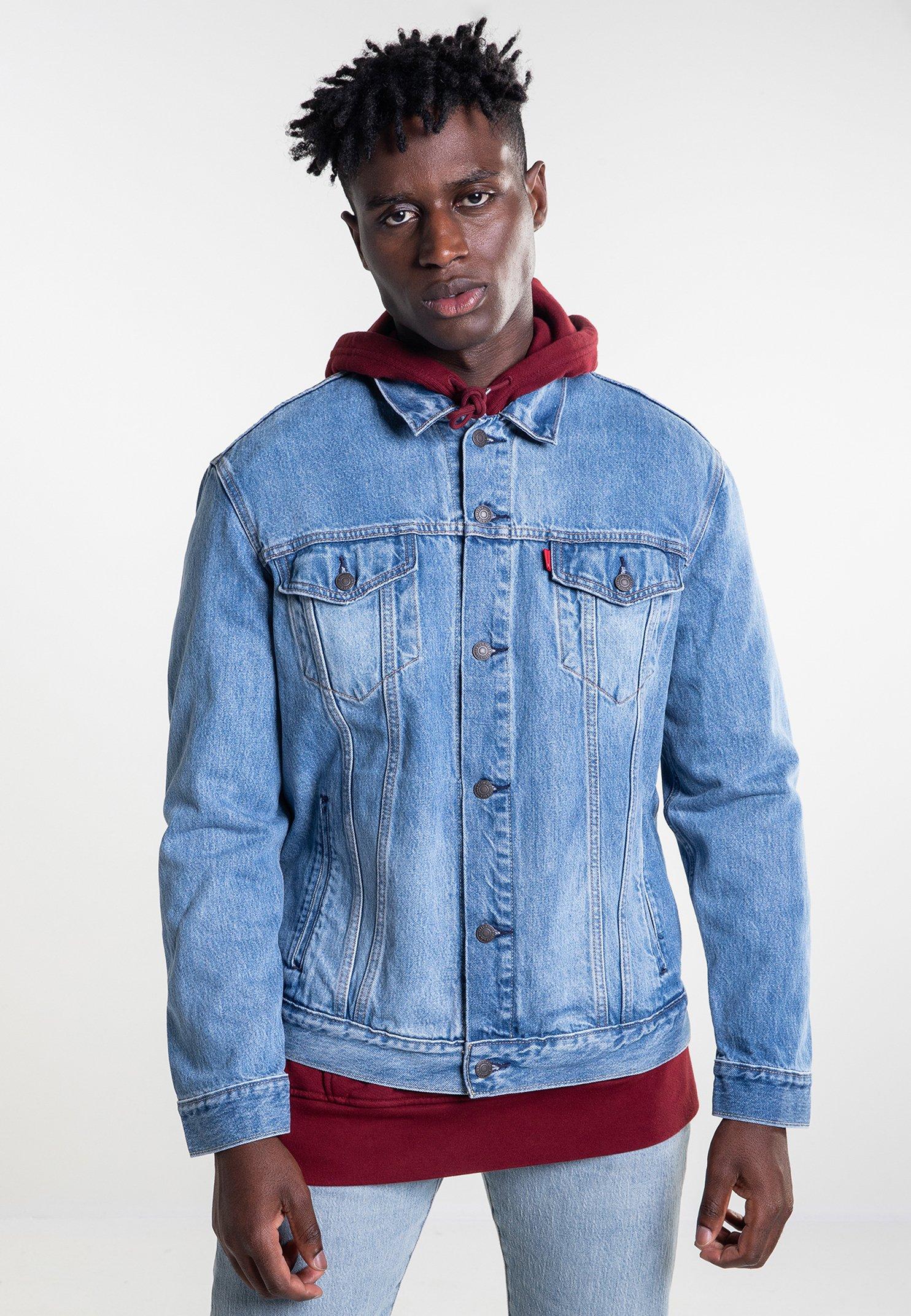 Di The TruckerGiacca Denim Jeans Blue Levi's® hdsQrt