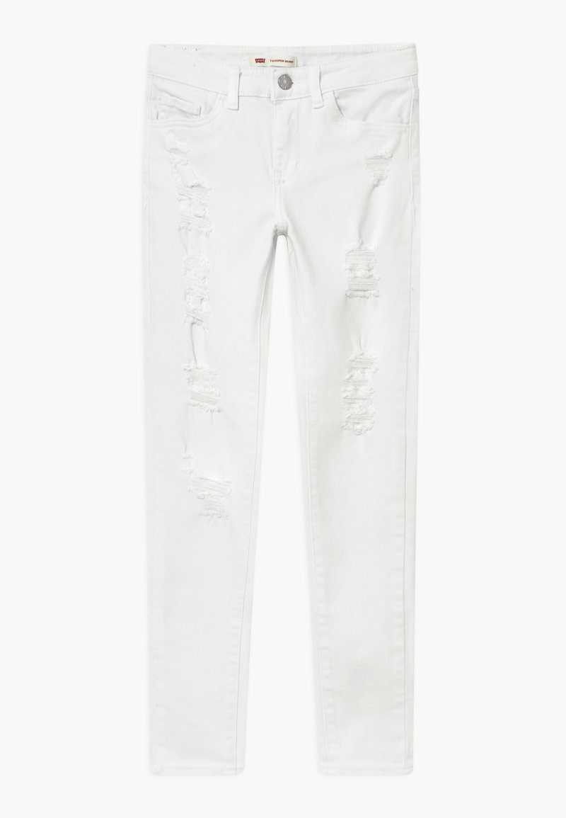 Levi's® - 710 COLOR - Jeans Skinny Fit - white