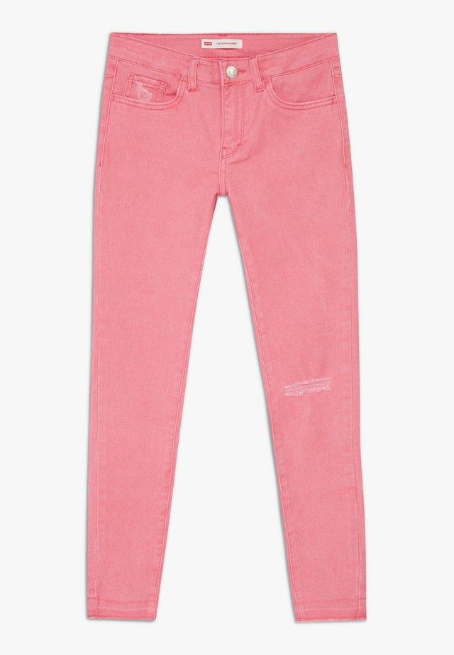 710 COLOR - Jeans Skinny Fit - camellia rose