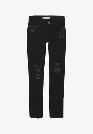 710 COLOR - Jeansy Skinny Fit - caviar