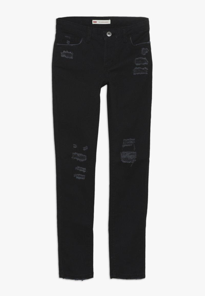 Levi's® - 710 COLOR - Jeans Skinny Fit - caviar